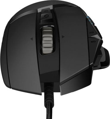 Logitech G502 Hero mouse front