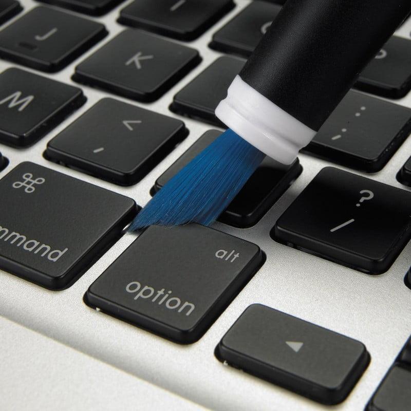 luosh Keyboard Computer Cleaner Spazzola antistatica Duster Laptop Keyboard Brush Strumento per la Pulizia dello Schermo del Computer