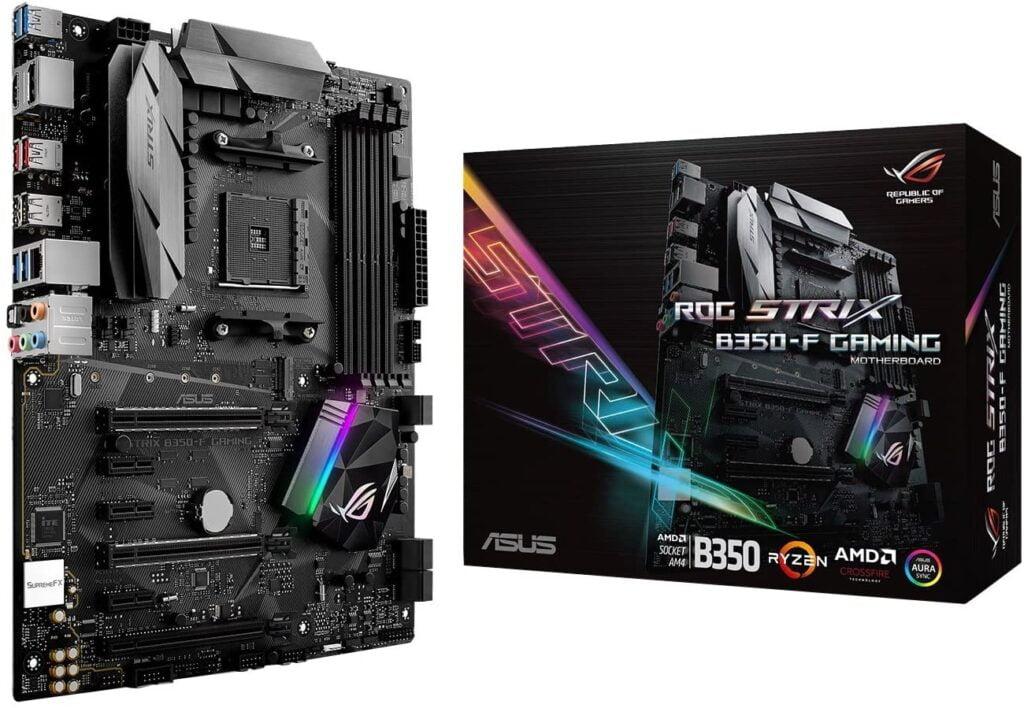 ASUS ROG STRIX B350-F motherboard for AMD Ryzen 7 2700X