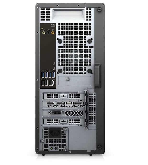 Dell G5 5090 gaming desktop back side