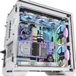 Gaming PC With White Motherboard