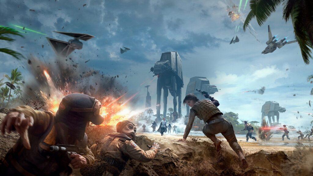 Star Wars Battlefront Rogue One Scarif Game image