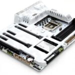 white gaming motherboard