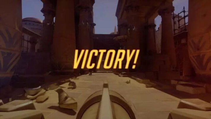 Level up in Overwatch