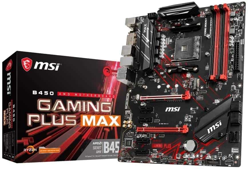MSI B450 Gaming Plus MAX AM4 ATX AMD B450